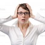 паника у бизнес-леди
