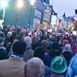 Кризис в Исландии от очевидца